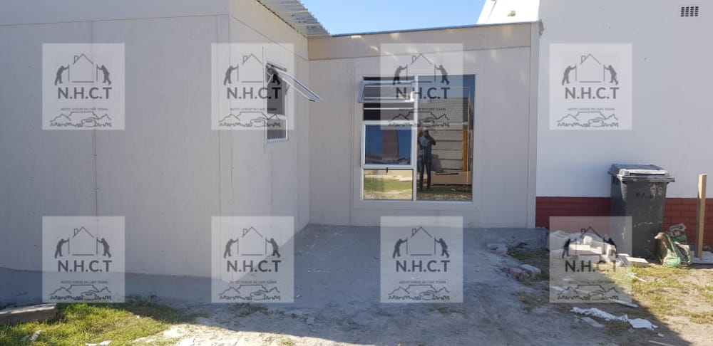 Nutec houses in Bantry Bay